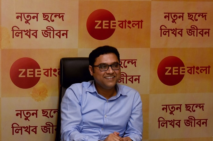 image-Samrat Ghosh Businss Head of Regional Clusters - ZEEL - ZEE Bengal channel refresh
