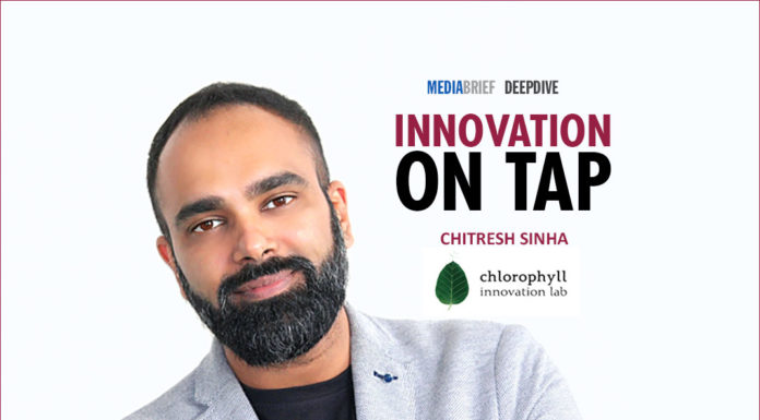 image-Chitresh-Sinha-CEO-chlorophyll-innovation-lab-on-Innovation-On-Tap-MediaBrief