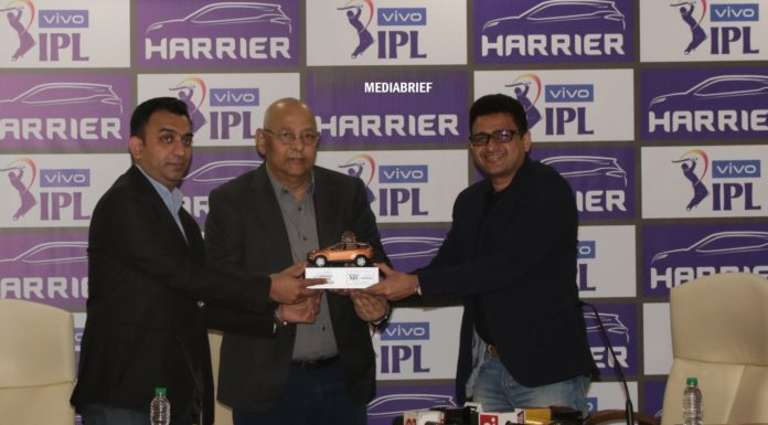 image - Tata Motors SUV Harrier to front the brand as Partner on VIVO IPL 2019 mediabrief