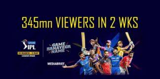image-VIVO IPL 2019-delivers-massive-345mn-viewers-in-2-weeks-mediabrief