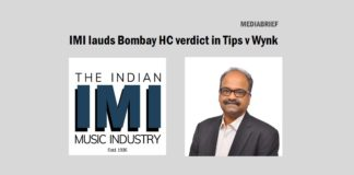 image-IMI - Blaise Fernandes - lauds Bombay HC Verdict in Tips v Wynk Music