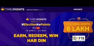 image-Indiatimes driving engagement with big wins promise - Times Points' ElectionKePoints - mediabrief
