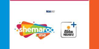 image-ShemarooMe-partners-with-Dainik-Bhaskar App MediaBrief