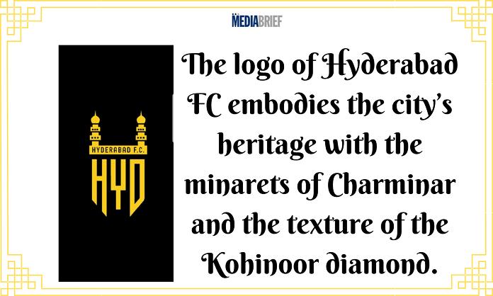 image-ISL Franchise Hyderabad Football Club unveils its logo Mediabrief