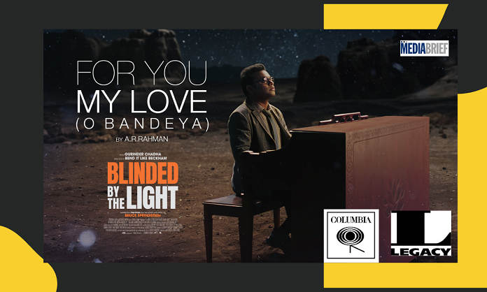 image-Premiering Music Video for A.R. Rahman's For You My Love Mediabrief