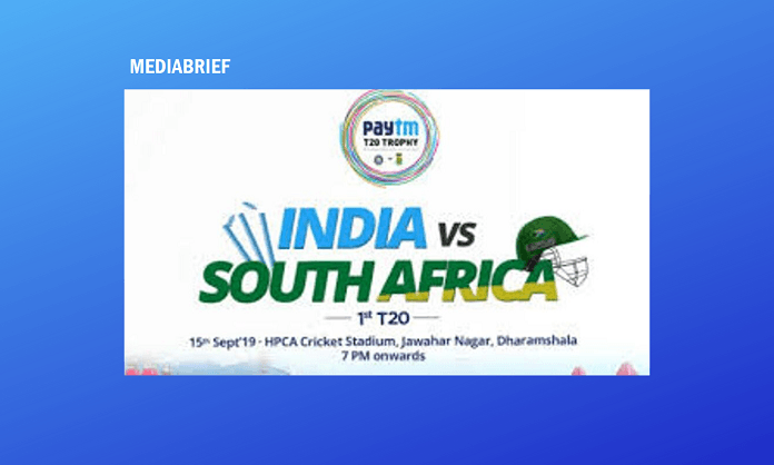 image-The Paytm South Africa tour of India begins this Sunday Mediabrief