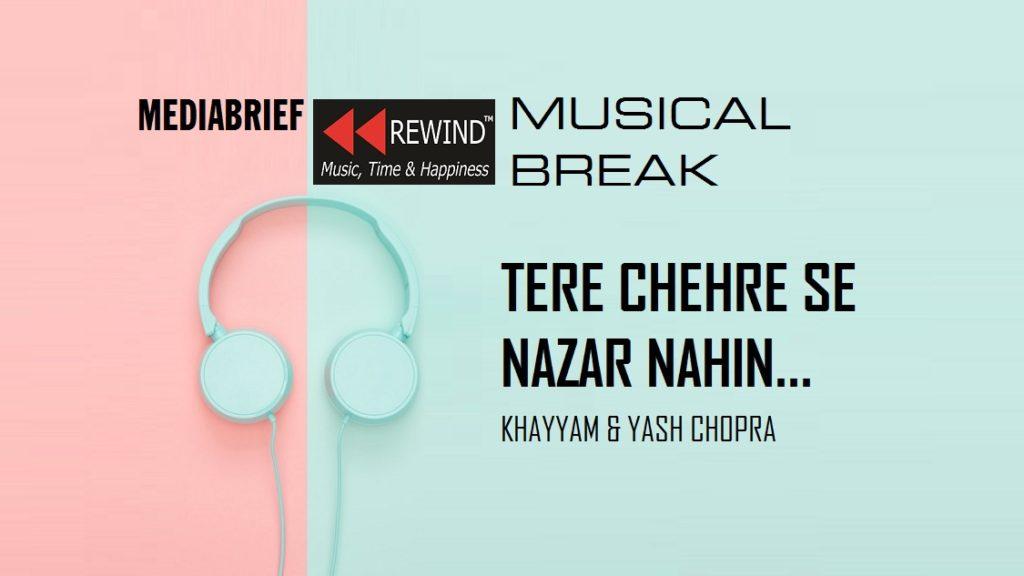 image -inpost- mediabrief music break - tere chehre se nazar nahin hat-ti-MediaBrief