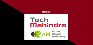 image-tech mahindra as leader djsi 2019 5th year Mediabrief