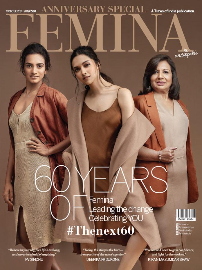 image femina 60th anniversary cover