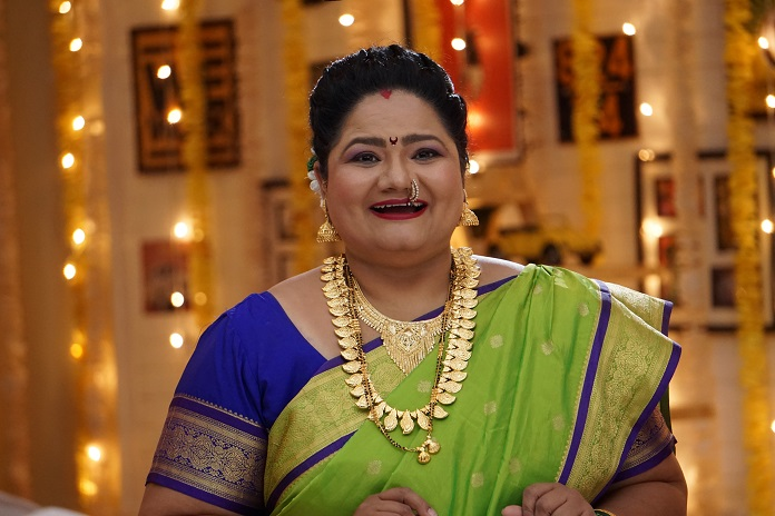 Tejal Adivarekar as Bharti on Sony SAB's Bhakharwadi