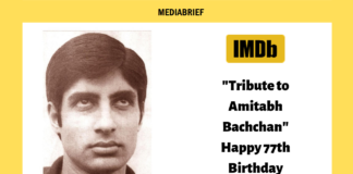 image-IMDb showcases pic of superstar Amitabh Bachchan by Ajitabh Bachchan Mediabrief