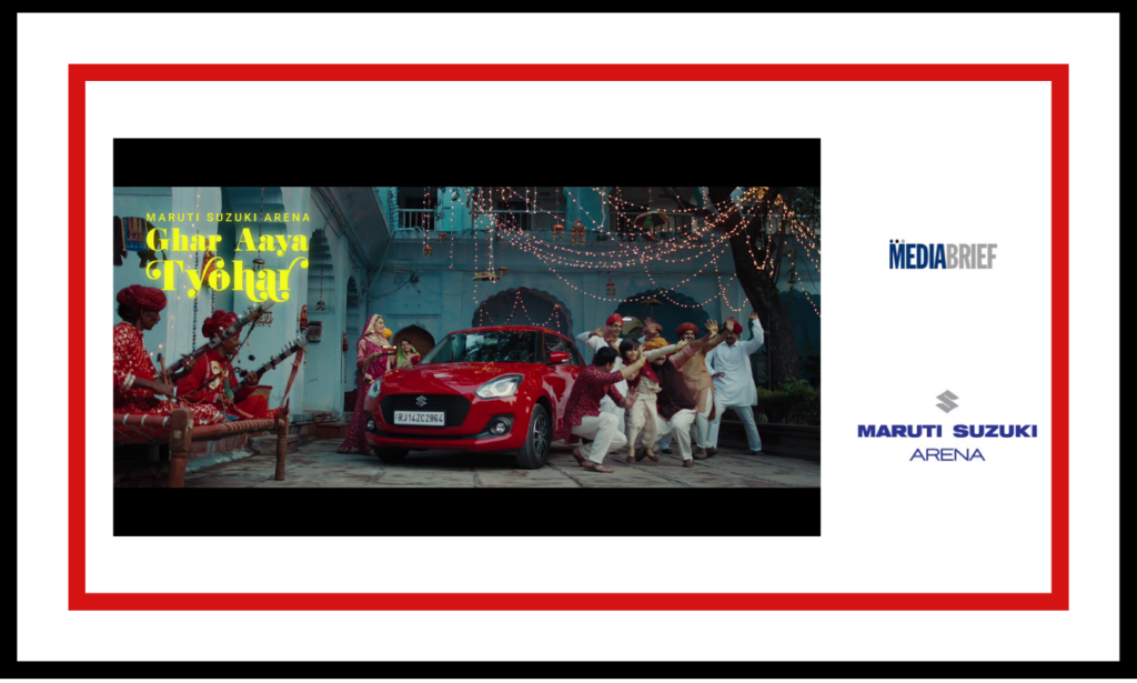 image-Maruti Suzuki Arena encourages celebrations with 'Ghar Aaya Tyohar' Mediabrief