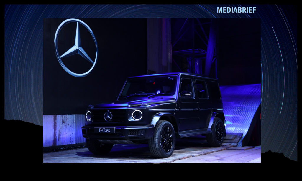 image-Mercedes-Benz introduces The G 350 D Mediabrief