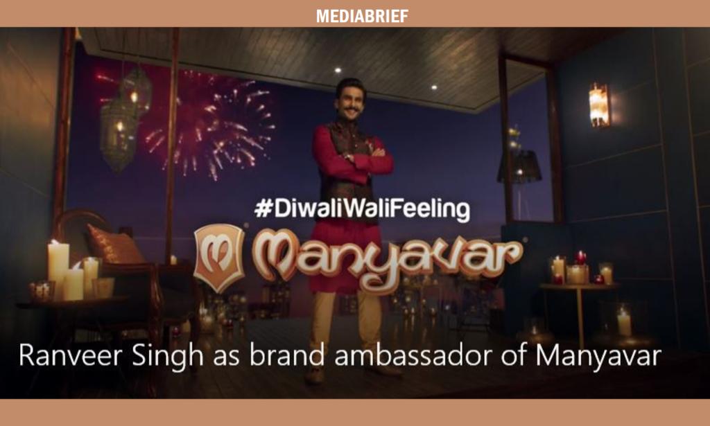 image-Ranveer Singh is the new face of brand Manyavar Mediabrief