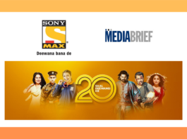 image-Sony MAX completes 20 years of showcasing Indian Cinema Mediabrief