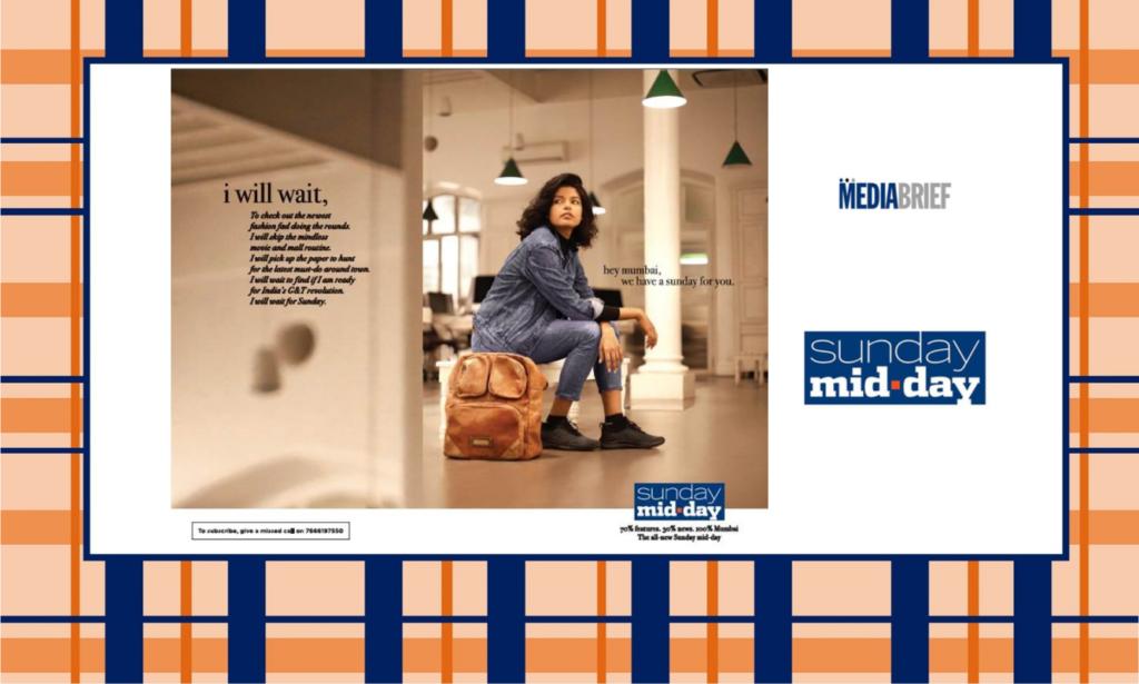 image-Sunday mid-day promising 70% features, 30% news, 100% Mumbai Mediabrief