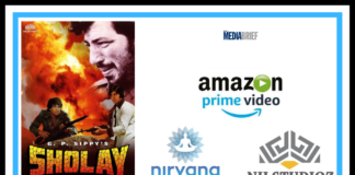 image-The iconic film Sholay available on Amazon Prime Video Mediabrief