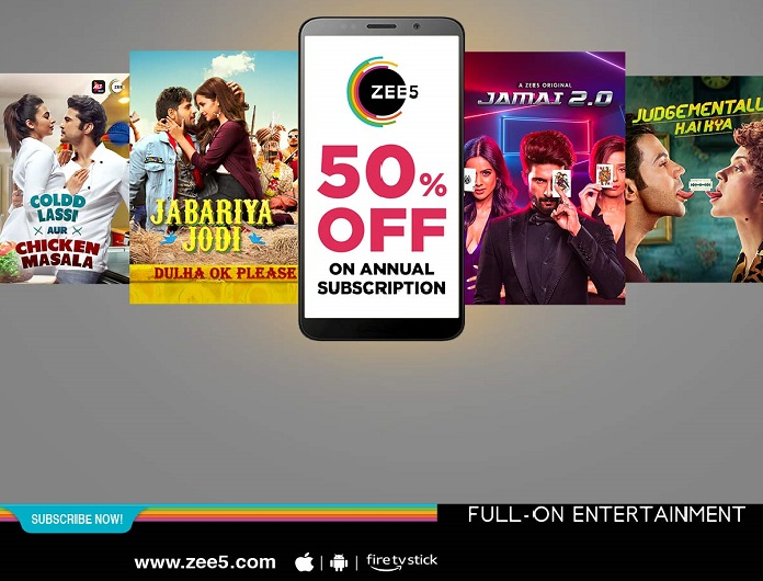 ZEE5 Global Registers a Huge Surge in Subscription Revenues with their Festive Pa