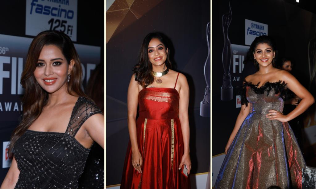 Divas at 66th Yamaha Fascino Filmfare Awards South 2019