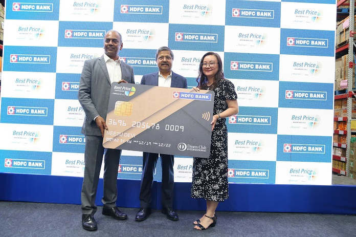 Walmart & HDFC Bank Launch Co-branded Credit Card