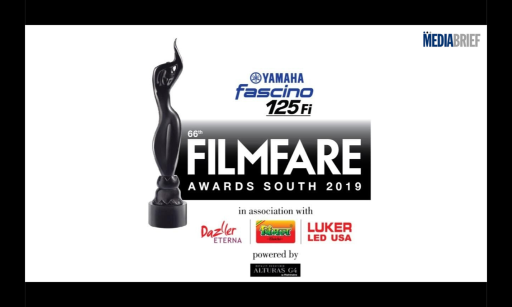 image-66th Yamaha Fascino Filmfare Awards South 2019 Mediabrief