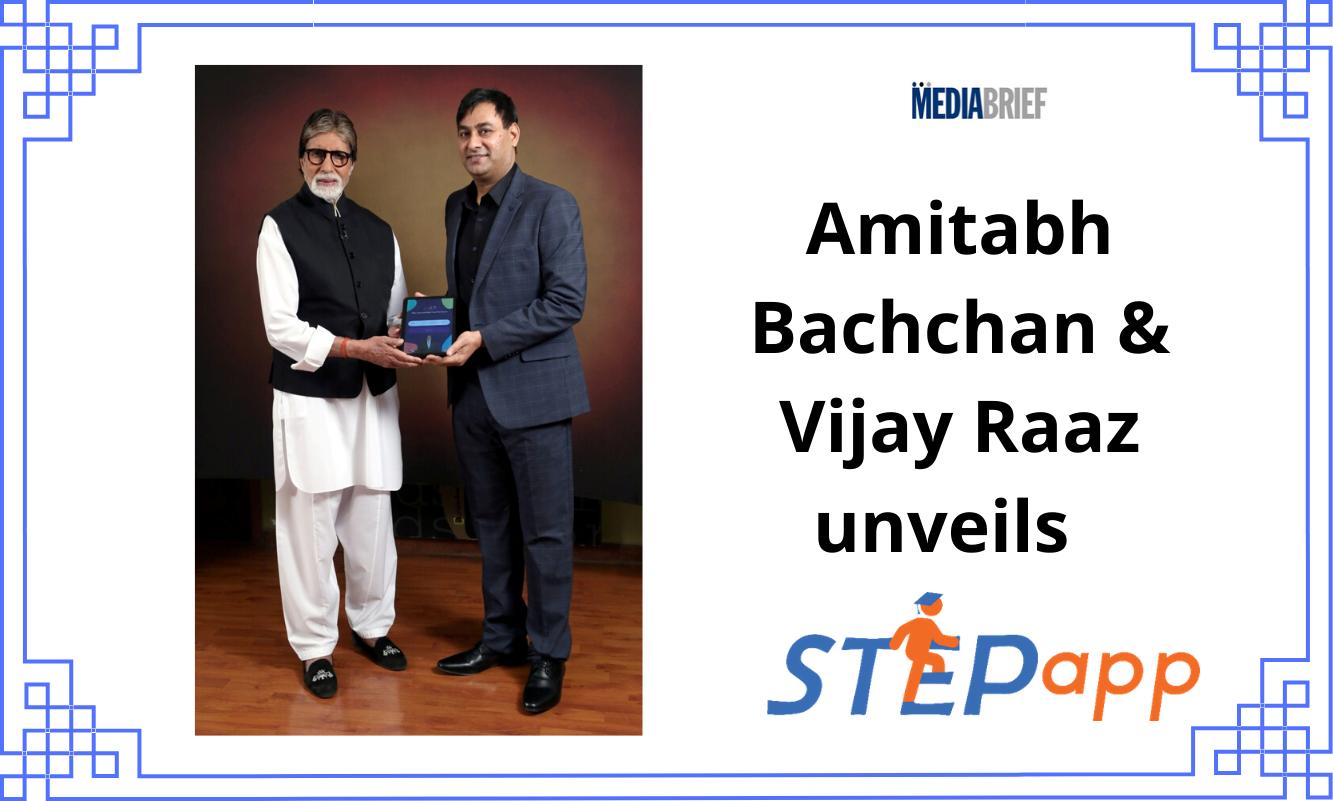 image-Amitabh Bachchan, Vijay Raaz unveils STEPapp Mediabrief