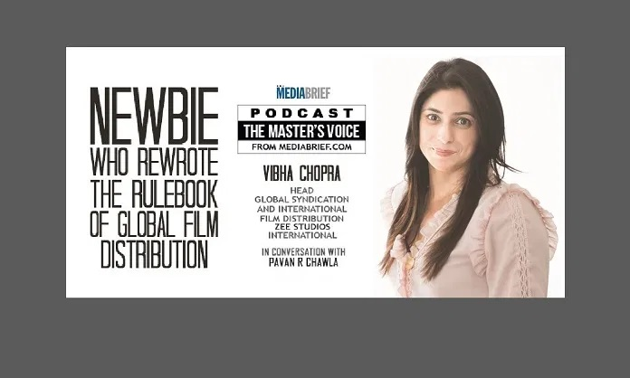 image-Vibha Chopra in THE MASTERS VOICDE podcast on MEDIABRIEF