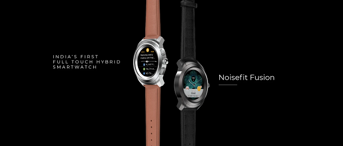 NoiseFit Fusion – India's first full touch Hybrid Smart Watch