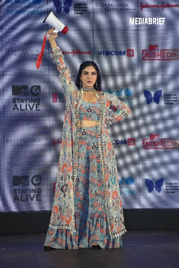 Image-Bhumi Pednekar at the launch of MTV Nishedh