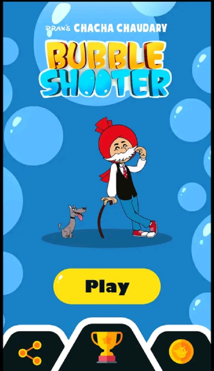 Chacha Chaudhary Bubble Shooter Game