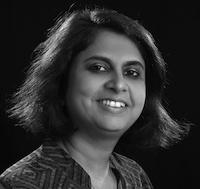 Hamsini Shivakumar, founder of Leapfrog Strategy