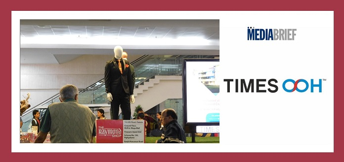 image-1-Times OOH showcases Raymond at Indore International Airport MediaBrief