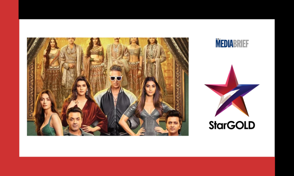 image-Housefull 4 premiere on Star Gold sets new TV viewership records Mediabrief