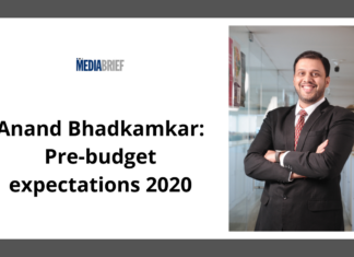 image-Anand Bhadkamkar- Pre-budget expectations 2020 Mediabrief