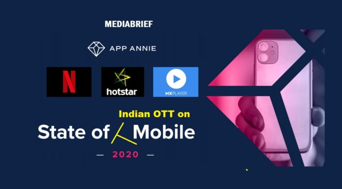 image App Annie State of Mobile 2020 - OTT apps of India-mediaBrief