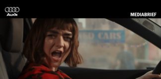 image-Audi-Maisie Williams-Let It Go campaign on Cup Day MediaBrief