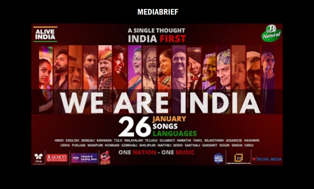 image-ITC's 'One Nation One Music One Brand' uniting 50 Indian music artists representing 26 languages Mediabrief