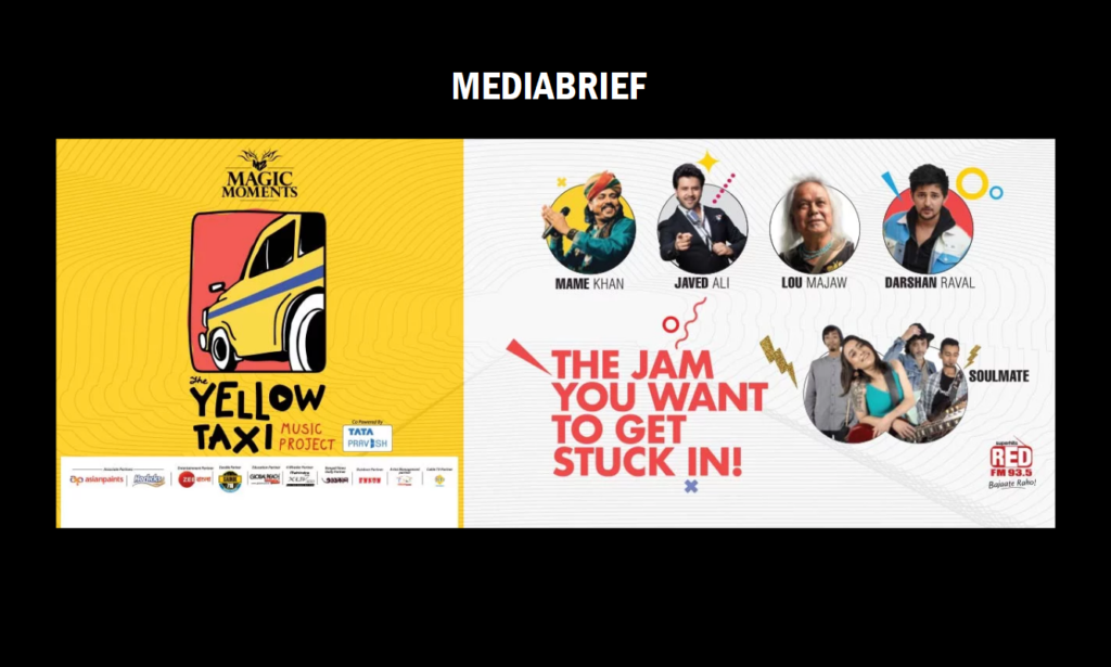 image-RED FM's 'The Yellow Taxi Music Project' celebrated the spirit of Kolkata Mediabrief