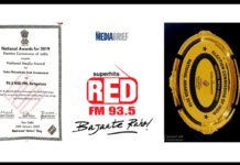 image-RED FM Bangalore receives a national media award from the President for creating voter awareness Mediabrief