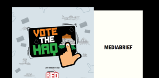 image-RED FM launches 'Vote The Haq' campaign for Delhi Elections Mediabrief