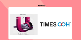 image-Times OOH bags exclusive media branding rights on Delhi Metro Pink Line Mediabrief