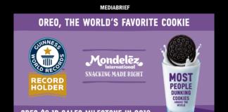 image-Twist, Lick, Dunk! Mondelēz International sets GUINNESS WORLD RECORDS Mediabrief