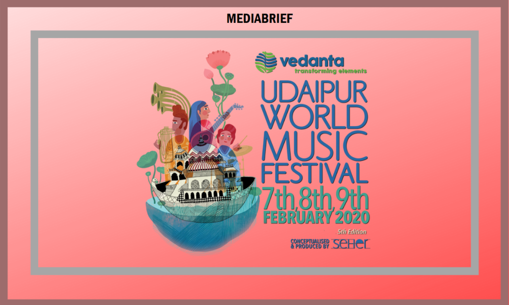 image-Udaipur World Music Festival ropes in Hindustan Zinc as the title sponsor of 5th edition Mediabrief