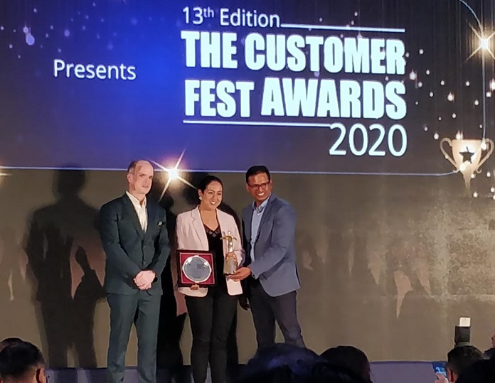 d2h bags two awards at The Customer Fest Show 2020