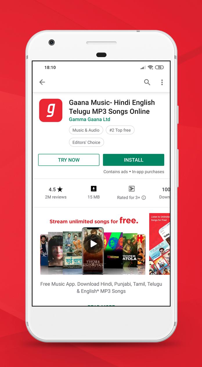 Gaana_Instant App Feature
