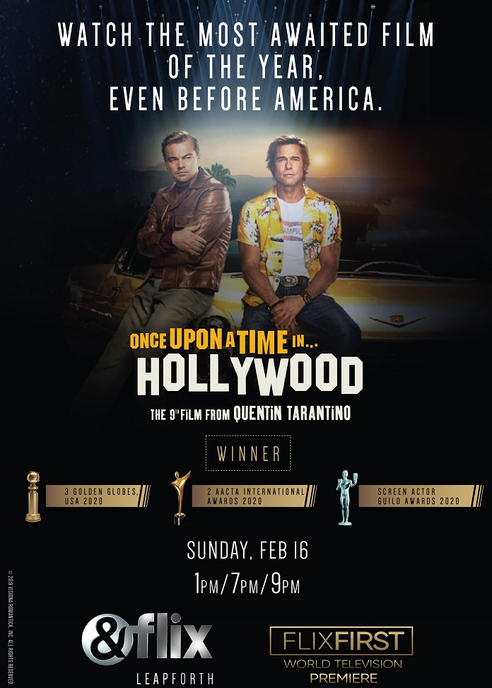 Once Upon A Time in Hollywood - &flix