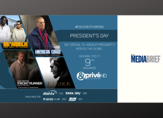image-&PrivéHD celebrates President's Day by bringing legendary stories of the most monumental presidents across the world Mediabrief