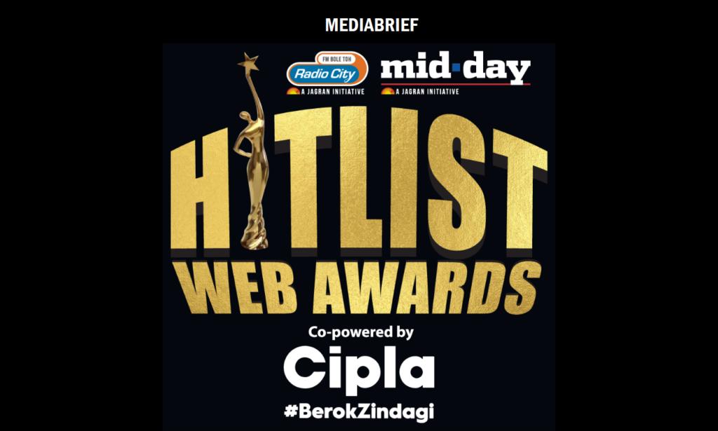 image-Radio City & mid-day's Hitlist Web Awards to celebrate India's binge list Mediabrief