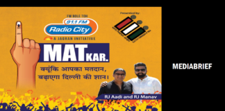 image-Radio City organised a #MATKar rally with Harley Davidson to create awareness amongst Delhiites to vote Mediabrief
