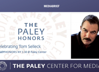 image-The Paley Center for Media announces Tom Selleck to receive the Paley Award Mediabrief